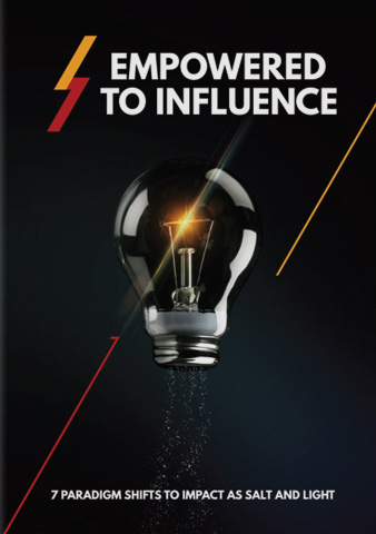 Empowered to Influence Course cover - 7 paradigm shifts to impact as salt and light