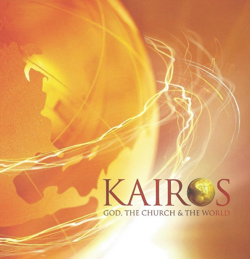 Kairos course cover - God, the church and the world